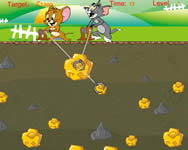 Tom and Jerry gold miner 2 Tom �s Jerry j�t�kok ingyen