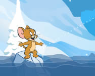 Tom and Jerry ice jump Tom �s Jerry j�t�kok
