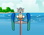 Tom and Jerry super ski stunts j�t�k