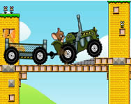 Tom and Jerry tractor j�t�k